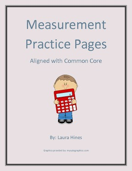 Measurement Practice Pages