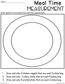 Measurement Practice Second Grade