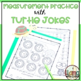 Measurement Worksheets with Turtle Jokes
