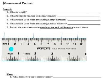 Measurement Pre-test