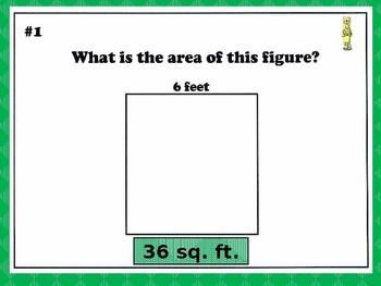 Measurement Presentation - Area & Perimeter
