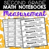 Math Notebooks: Second Grade Measurement