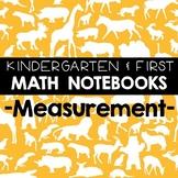 Math Notebooks: K-1 Measurement