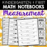 Math Notebooks: K-1 Measurement