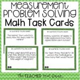4th Grade Measurement Problem Solving Task Cards