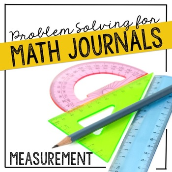 Measurement Problem Solving for Interactive Notebooks or Math Journals