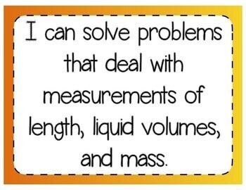 Measurement Problem Solving Interactive Notebook & Quick Check TEKS 4.8C