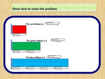 Measurement, Problem Solving, Measure and Compare for Visual Learners