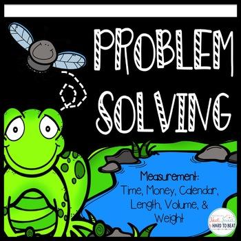 Measurement Problem Solving Performance Tasks