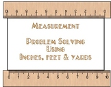 Measurement  Problem solvingTask Cards