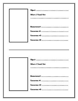 Measurement Project
