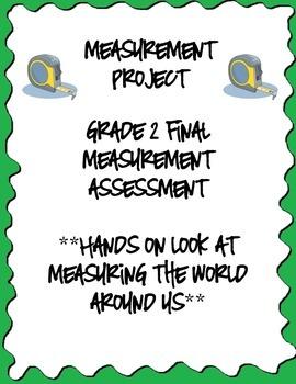 Measurement Project - Grade 2