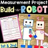 Measurement Project Second Grade Robot Measurement Activity
