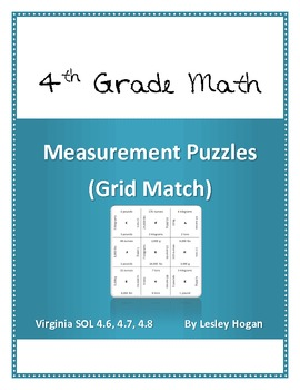 Measurement Puzzles (Grid Match)