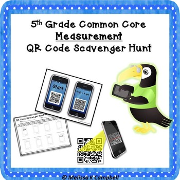 Measurement QR Code Scavenger Hunt
