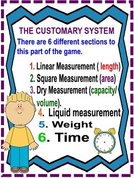 Measurement Quiz Games for Upper Elementary