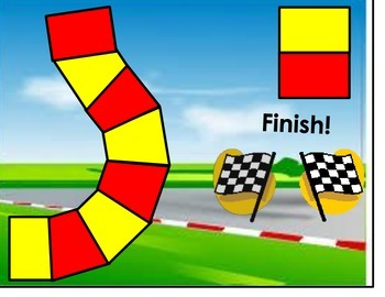 Measurement Racing Board Game