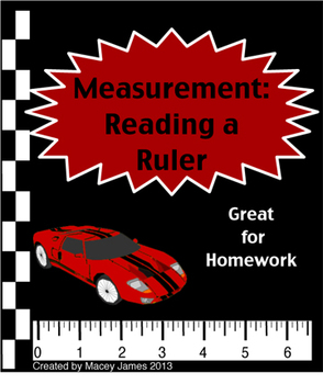 Measurement: Reading a Ruler