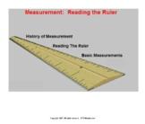Measurement: Reading a Ruler