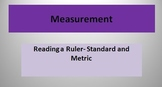 Measurement Reading a Ruler