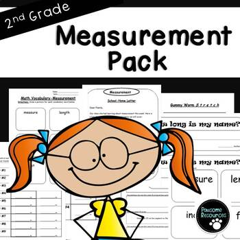 Second Grade Measurement Resource Pack