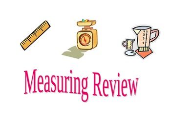 Measurement Review- 3rd Grade VA SOLs