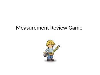 Measurement Review Game
