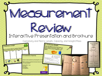Measurement Review Presentation & Brochure