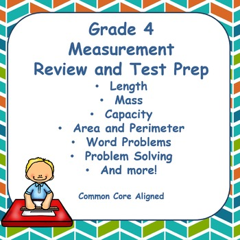 Fourth Grade Measurement Review and Test Prep