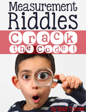 Measurement Riddles -- Measure to the Nearest 1/4 Inch