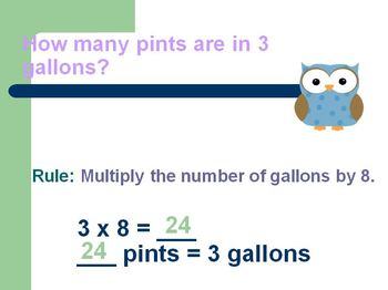 Measurement : Rules for Changing Units of Measurement