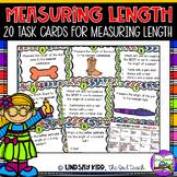 Measuring Length:  Task Cards