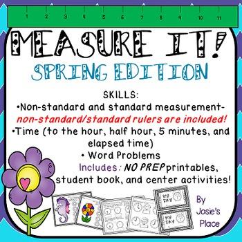 Measurement SPRING Edition NO PREP!