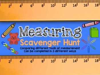 Measurement Scavenger Hunt