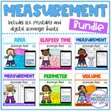 Measurement Scavenger Hunt Bundle