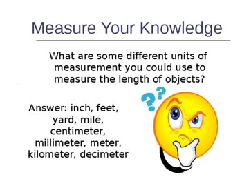 Measurement Scavenger Hunt Cooperative Learning PowerPoint Measure CCSS MAFS