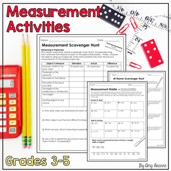 Measurement Activity: Classroom Scavenger Hunt