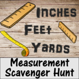 Measurement Scavenger Hunt- Inches, Feet, Yards