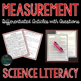 Measurement - Science Literacy Article