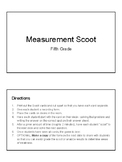 Measurement Scoot Game