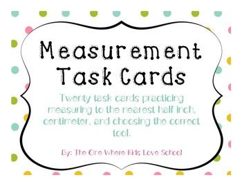 Measurement Scoot (Measurement Task Cards)