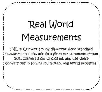 Measurement Search