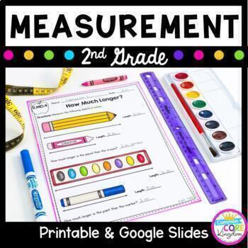 2nd grade common core math measurement worksheets