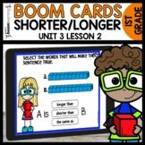 Measurement Shorter or Longer | Module 3 Lesson 2 | Boom d