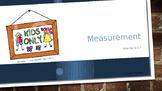 Measurement - Simple Distance Lesson