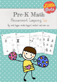 Pre-K Math: Comparing Size Worksheets