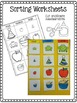Measurement - Size Sorting and Ordering with Intro to Capacity