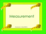 Measurement Smartboard Lesson