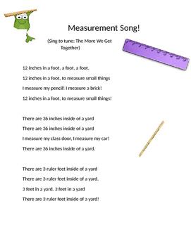 Measurement Song
