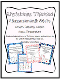 Measurement Sort: Christmas